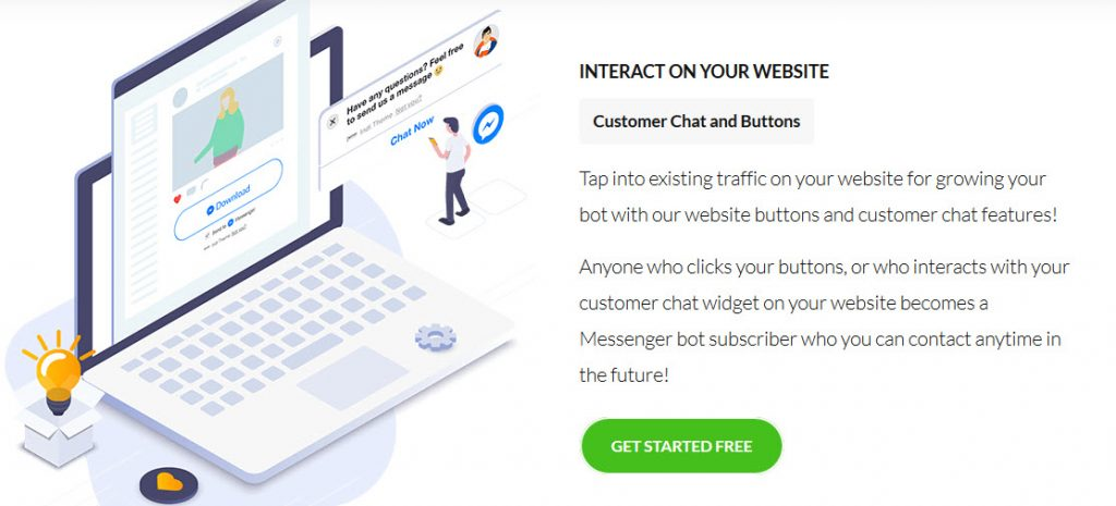 I like to know more about CHat BOTs for websites