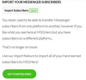 How to use facebook messenger bot