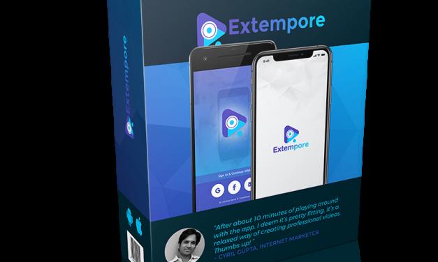 Tutorial On How To Navigate Through Extempore App